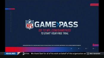 NFL Game Pass TV Spot, 'All Off Season: Free Trial' - Thumbnail 6