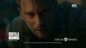HBO Max TV Spot, 'Same Day Premieres and Originals All in One Place: Godzilla vs. Kong and Zack Snyder's Justice League' - Thumbnail 4