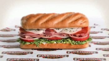 Firehouse Subs Pepperoni Pizza Meatball Sub TV Spot, 'Every Sub Makes a Difference: First Respoders' - Thumbnail 2