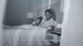 UBRELVY TV Spot, 'Anytime, Anywhere Migraine Medicine' Featuring Serena Williams