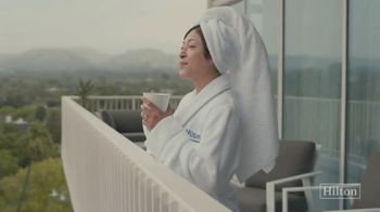 Hilton Hotels Worldwide TV Spot, \'To New Memories: New View\'