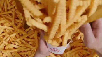 Arby's $1 Crinkle Fries TV Spot, 'Fry Scoop' Song by Sugar Ray - Thumbnail 3