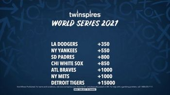Twin Spires TV Spot, 'Pick of the Week: 2021 World Series' - Thumbnail 6