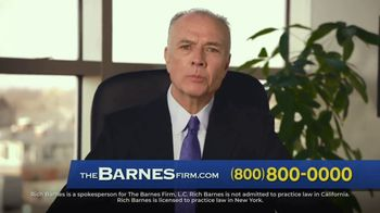 The Barnes Firm TV Spot, 'I Had No Idea What My Case Was Worth'