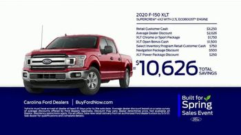Ford Built for Spring Sales Event TV Spot, 'Your Time to Buy: Trucks' [T2] - Thumbnail 10