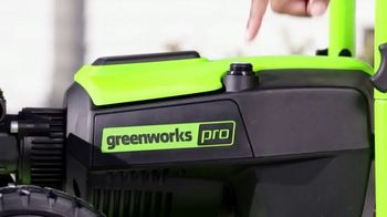 GreenWorks 3000 PSI Pressure Washer TV Spot, 'Hear That?' - Thumbnail 1