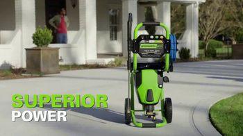 GreenWorks 3000 PSI Pressure Washer TV Spot, 'Hear That?' - Thumbnail 9