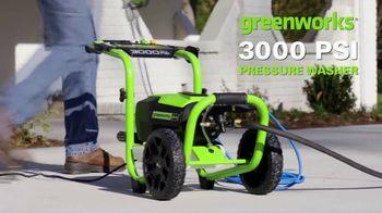 GreenWorks 3000 PSI Pressure Washer TV Spot, 'Hear That?' - Thumbnail 2