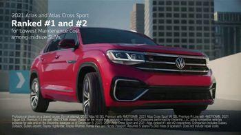 Volkswagen Sign Then Drive Event TV Spot, 'Ranking: SUVs' [T2]