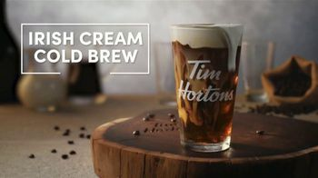 Tim Hortons Irish Cream Cold Brew TV Spot, 'Cold Foam Perfection' - Thumbnail 7