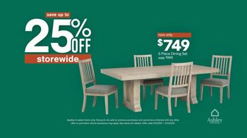 Ashley HomeStore Spring Semi-Annual Sale TV Spot, '25% Off Storewide & Special Financing' - Thumbnail 3