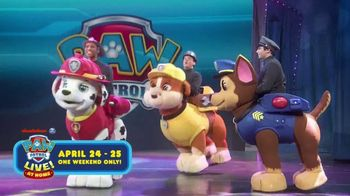 PAW Patrol Live! at Home TV Spot, 'From the Comfort of Your Home'