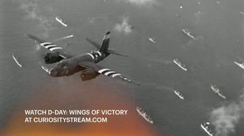 CuriosityStream TV Spot, 'D-Day: Wings of Victory' - Thumbnail 6