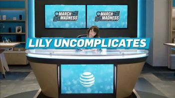 AT&T Wireless TV Spot, 'Lily Uncomplicates: Zone Defense' - Thumbnail 1