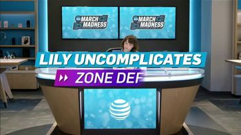 AT&T Wireless TV Spot, 'Lily Uncomplicates: Zone Defense' - Thumbnail 2