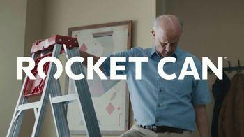 Rocket Mortgage TV Spot, 'Rocket Can: Leaky Roof' - Thumbnail 9