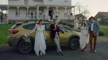 2021 Subaru Crosstrek TV Spot, 'Barn Wedding' [T1] - Thumbnail 10
