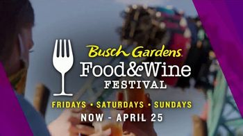 Busch Gardens TV Spot, '2021 Food & Wine Festival: Save Up to $50' - Thumbnail 4