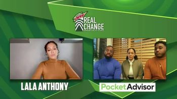 Mountain Dew TV Spot, 'Real Change Opportunity Fund: Lala's Mentorship Moments' - Thumbnail 6