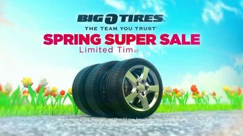 Big O Tires Spring Super Sale TV Spot, 'Buy Three, Get One Free'