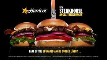 Hardee's Steakhouse Angus Thickburger TV Spot, 'Made Of' - Thumbnail 8
