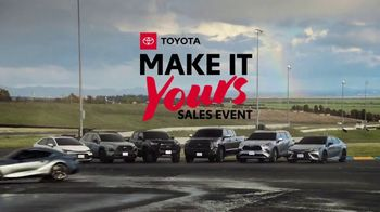 Toyota Make It Yours Sales Event TV Spot, 'Get In Today: Racetrack' Song by Jet [T2] - Thumbnail 10