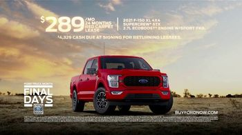 Ford Truck Month TV Spot, 'Final Days: One Show You Don't Want to Miss' Song by Cody Johnson [T2] - Thumbnail 10