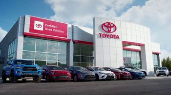 Toyota Certified Used Vehicles TV Spot, 'Authorized Dealer' [T2] - Thumbnail 1