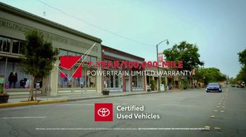 Toyota Certified Used Vehicles TV Spot, 'Authorized Dealer' [T2] - Thumbnail 3