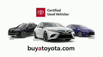 Toyota Certified Used Vehicles TV Spot, 'Authorized Dealer' [T2] - Thumbnail 4