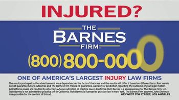 The Barnes Firm TV Spot, 'The Best Call You Can Make' - Thumbnail 8