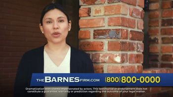 The Barnes Firm TV Spot, 'The Best Call You Can Make' - Thumbnail 1