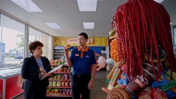 AmPm Bacon, Egg and Cheese Croissant TV Spot, 'Breakfast Sandwich at Large'