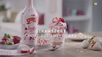 Baileys Irish Cream TV Spot, 'Strawberry Short-But-Sweet Cake'