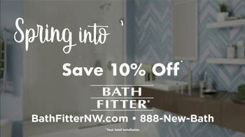 Bath Fitter Spring into Savings Event TV Spot, 'Save 10% Total Installation' - Thumbnail 10