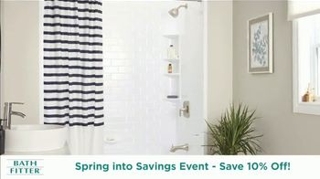 Bath Fitter Spring into Savings Event TV Spot, 'Save 10% Total Installation' - Thumbnail 6