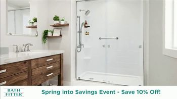 Bath Fitter Spring into Savings Event TV Spot, 'Save 10% Total Installation' - Thumbnail 7