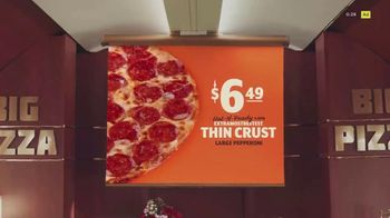 Little Caesars Thin Crust TV Spot, 'Big Pizza Air' - Thumbnail 2