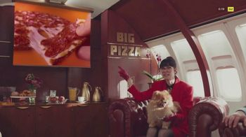 Little Caesars Thin Crust TV Spot, 'Big Pizza Air' - Thumbnail 5
