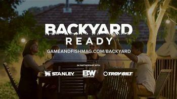 Game & Fish TV Spot, 'Backyard Ready: Big Ideas' - Thumbnail 8