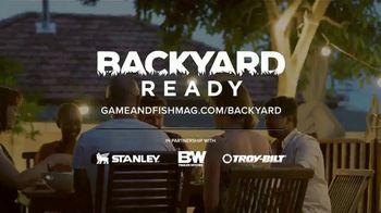 Game & Fish TV Spot, 'Backyard Ready: Big Ideas' - Thumbnail 7