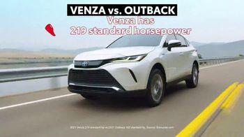 2021 Toyota Venza TV Spot, 'Nothing Else Compares' [T2] - Thumbnail 4