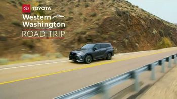 2021 Toyota Highlander TV Spot, 'Western Washington Road Trip: Serious Power' Ft. Ethan Erickson [T2] - 130 commercial airings