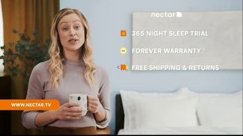 NECTAR Sleep TV Spot, 'Sleeping Next to a Human Furnace!?: $399 in Accessories' - Thumbnail 7