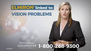 Goldwater Law Firm TV Spot, 'Elmiron: Vision Problems'