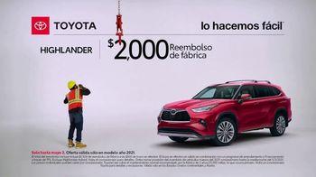 Toyota TV Spot, 'Trabajador de construcción: Highlander' [Spanish] [T2] - Thumbnail 2