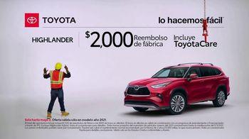 Toyota TV Spot, 'Trabajador de construcción: Highlander' [Spanish] [T2] - Thumbnail 5
