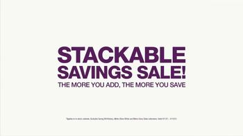 Cabinets To Go Stackable Savings Sale TV Spot, 'Savings in Stock'