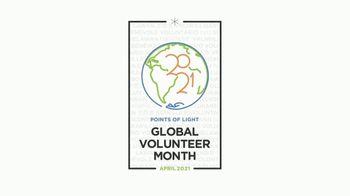 Points of Light TV Spot, '2021 Global Volunteer Month' - Thumbnail 1