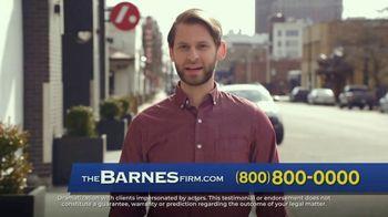 The Barnes Firm TV Spot, 'Not Fair: Truck Accident' - Thumbnail 4